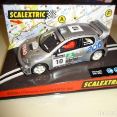 """Scalextric: SCALEXTRIC. PEUGEOT 206 WRC """"WORLD CHAMPION 2000"""". REF: 6064. Lote 218393902"""
