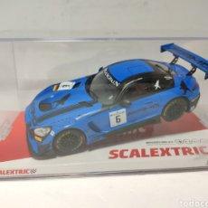 Scalextric: SCALEXTRIC MERCEDES AMG GT3 BLACK FALCON SCX REF. U10278S300. Lote 218529617