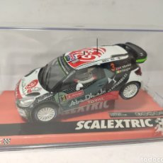 Scalextric: SCALEXTRIC CITROEN DS3 WRC RALLY PORTUGAL SCX REF. A10217S300. Lote 219007657