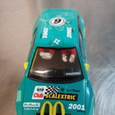 Scalextric: COCHE SCALEXTRIC DE TECNITOYS SEAT CÓRDOBA WRC Nº9 2001. SIN GUÍA NI IMÁN CREO.. Lote 220483947