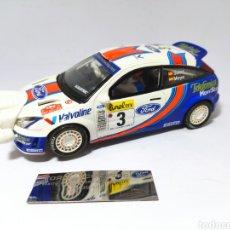 Scalextric: SCALEXTRIC FORD FOCUS WRC CARLOS SAINZ ALTAYA. Lote 239989775