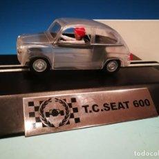 Scalextric: SCALEXTRIC T. C. SEAT 600 TRANSPARENTE. SERIE LIMITADA 55 UD.. Lote 220720043