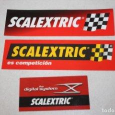 Scalextric: PEGATINAS DE SCALEXTRIC. Lote 220726333