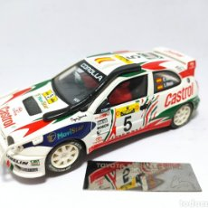 Scalextric: SCALEXTRIC TOYOTA COROLLA WRC CARLOS SAINZ SAFARI ALTAYA. Lote 220728465