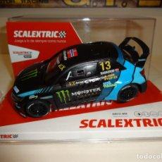 Scalextric: SCALEXTRIC. AUDI S1 WRX. MONSTER. BAKKERUD. REF. U10319S300. NOVEDAD !!. Lote 254439560
