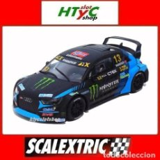 Scalextric: SCALEXTRIC AUDI S1 WRX #13 MONSTER ANDREAS BAKKERUD RALLY 2019 SCX U10319S300. Lote 234306405