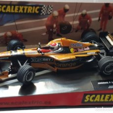Scalextric: COCHE SLOT CAR ORANGE ARROWS F 1 DE SCALEXTRIC TECNITOYS EN BLISTER ORIGINAL REF.6069. Lote 221308750