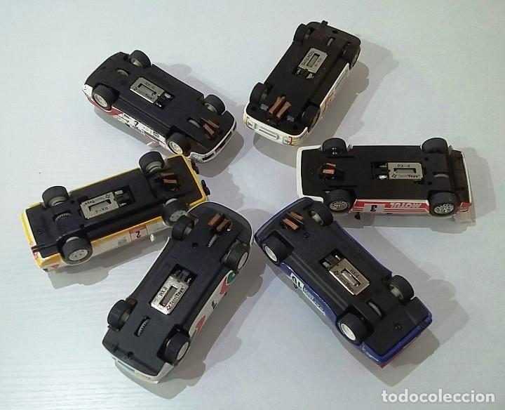 Scalextric: SCALEXTRIC RALLY MÍTICOS 13 COCHES NUEVOS, CON CERTIFICADO Y MALETÍN - Foto 4 - 221456290