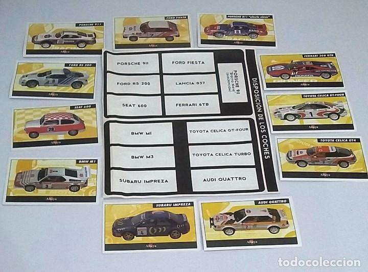 Scalextric: SCALEXTRIC RALLY MÍTICOS 13 COCHES NUEVOS, CON CERTIFICADO Y MALETÍN - Foto 18 - 221456290