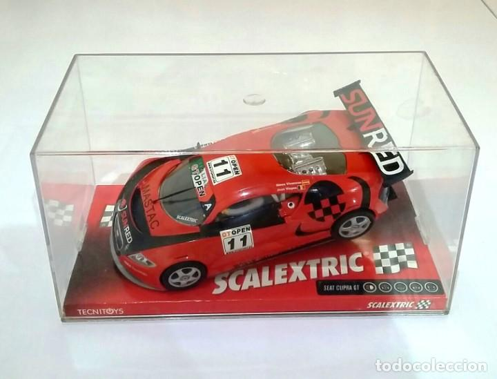 SCALEXTRIC SEAT CUPRA GT ,NUEVO EN SU CAJA ORIGINAL (Juguetes - Slot Cars - Scalextric Tecnitoys)