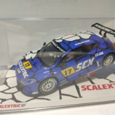 Scalextric: SCALEXTRIC RENAULT MEGANE CLUB SCALEXTRIC 2017. Lote 221491450