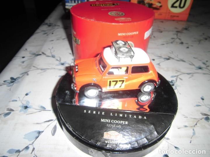 MINI COOPER VINTAGE DE SCALEXTRIC TECNITOYS (Juguetes - Slot Cars - Scalextric Tecnitoys)