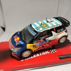 Scalextric: SCALEXTRIC CITROEN DS3 WRC LOEB TECNITOYS REF. A10066S300. Lote 221789486
