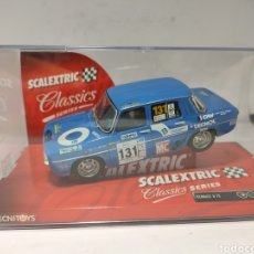 Scalextric: SCALEXTRIC RENAULT 8 TS BLUE TECNITOYS REF. 6379. Lote 221791702