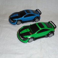 Scalextric: 2 SCALEXTRIC TUNING CAR AZUL Y VERDE. Lote 221937605