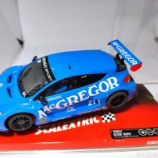 Scalextric: SCALEXTRIC RENAULT MEGANE TROPHY MCGREGOR TECNITOYS REF. 6464. Lote 221943130