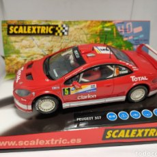 Scalextric: SCALEXTRIC PEUGEOT 307 WRC TECNITOYS REF. 6161. Lote 221944830