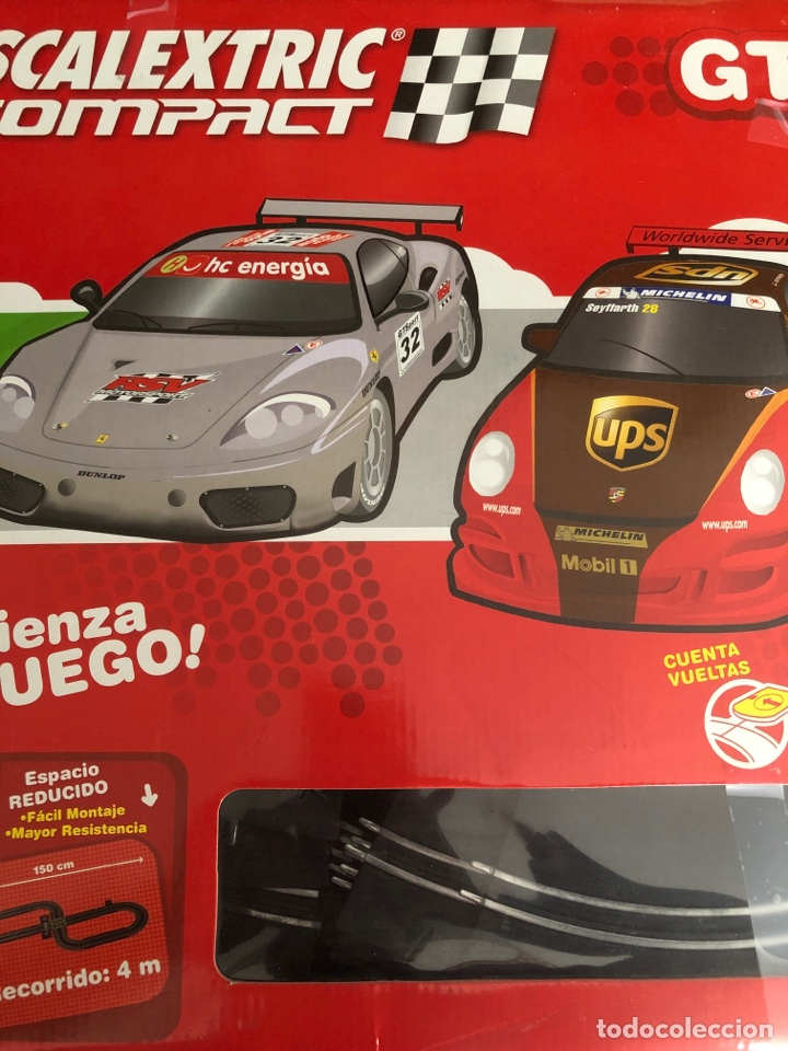 SCALEXTRIC COMPACT GT SIN COCHES (Juguetes - Slot Cars - Scalextric Tecnitoys)