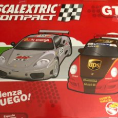 Scalextric: SCALEXTRIC COMPACT GT SIN COCHES. Lote 222040513