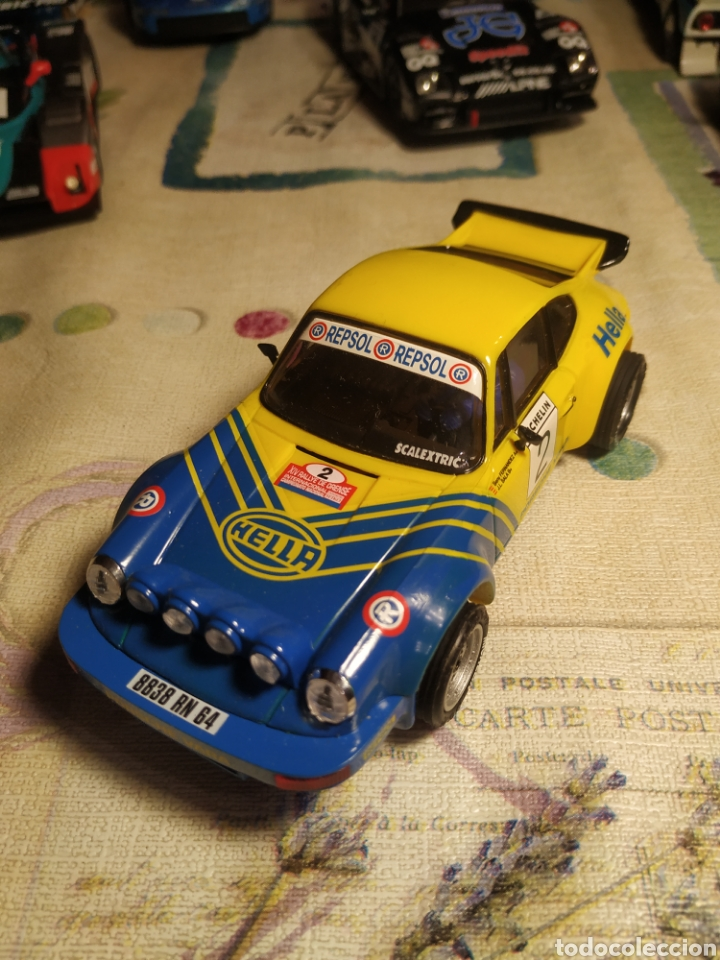SCALEXTRIC PORCHE CARRERA RS (Juguetes - Slot Cars - Scalextric Tecnitoys)