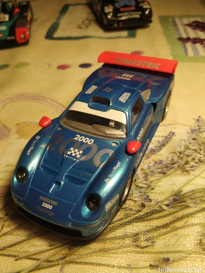 SCALEXTRIC PORCHE 911 GT1 DEL CLUB (Juguetes - Slot Cars - Scalextric Tecnitoys)