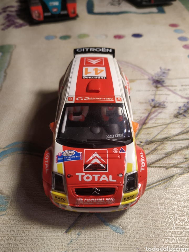 SCALEXTRIC CITROEN C3 (Juguetes - Slot Cars - Scalextric Tecnitoys)