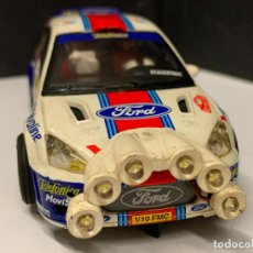 Scalextric: FORD FOCUS WRC SAIN MOYA, CON LUCES LED. SCALEXTRIC. Lote 222386910