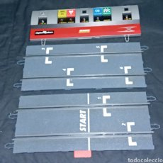 Scalextric: LOTE POWER LINE + 2 TRAMOS RECTAS SALIDA - SCALEXTRIC DIGITAL SYSTEM. Lote 222513047