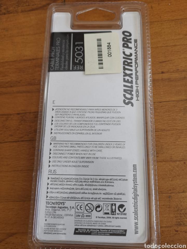 Scalextric: Cable Proy para terminales pro. para coche de scalextric. Tecnitoys ref. 5031 - Foto 2 - 222663858