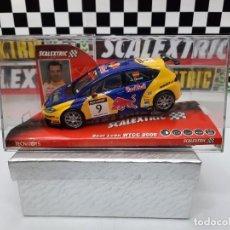 Scalextric: SEAT LEON WTCC 2006 #9 JORDI GENE SCALEXTRIC PRECINTADO A ESTRENAR!. Lote 222691902
