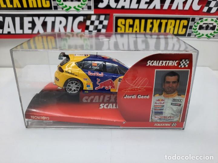 Scalextric: SEAT LEON WTCC 2006 #9 JORDI GENE SCALEXTRIC PRECINTADO A ESTRENAR! - Foto 4 - 222691902