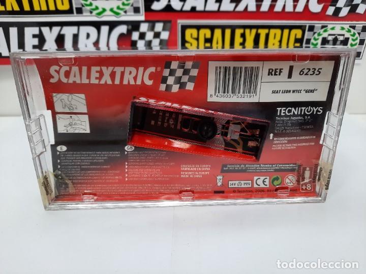 Scalextric: SEAT LEON WTCC 2006 #9 JORDI GENE SCALEXTRIC PRECINTADO A ESTRENAR! - Foto 6 - 222691902