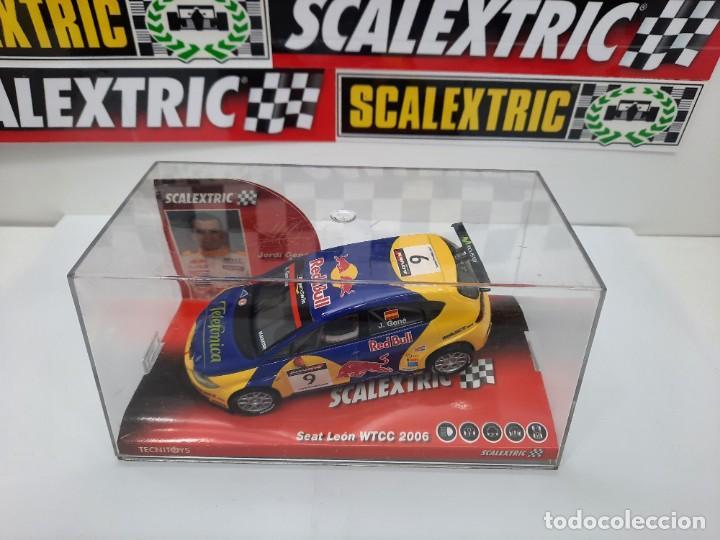 Scalextric: SEAT LEON WTCC 2006 #9 JORDI GENE SCALEXTRIC PRECINTADO A ESTRENAR! - Foto 7 - 222691902