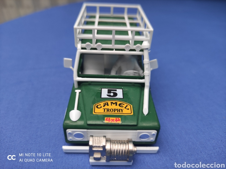 Scalextric: SCALEXTRIC EXIN STS CARROCERIA LAND ROVER, VERDE OSCURO, NUEVA - Foto 2 - 223477846