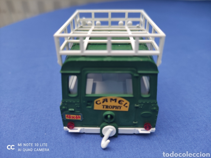 Scalextric: SCALEXTRIC EXIN STS CARROCERIA LAND ROVER, VERDE OSCURO, NUEVA - Foto 3 - 223477846