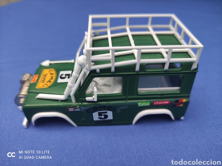 SCALEXTRIC EXIN STS CARROCERIA LAND ROVER, VERDE OSCURO, NUEVA (Juguetes - Slot Cars - Scalextric Tecnitoys)