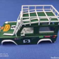 Scalextric: SCALEXTRIC EXIN STS CARROCERIA LAND ROVER, VERDE OSCURO, NUEVA. Lote 223477846