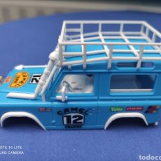 Scalextric: SCALEXTRIC EXIN STS CARROCERIA LAND ROVER, AZUL, NUEVA. Lote 223478231