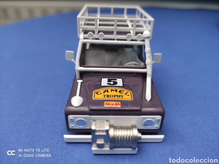 Scalextric: SCALEXTRIC EXIN STS CARROCERIA LAND ROVER, LILA, NUEVA - Foto 2 - 223478355