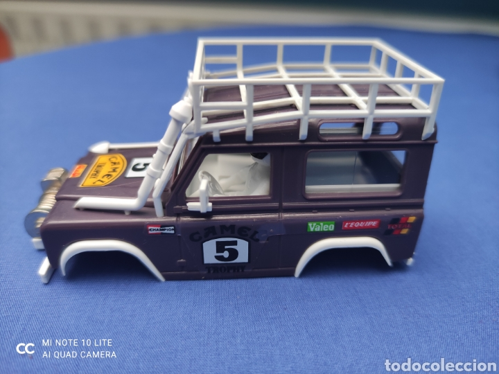 SCALEXTRIC EXIN STS CARROCERIA LAND ROVER, LILA, NUEVA (Juguetes - Slot Cars - Scalextric Tecnitoys)
