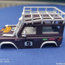 Scalextric: SCALEXTRIC EXIN STS CARROCERIA LAND ROVER, LILA, NUEVA. Lote 223478355