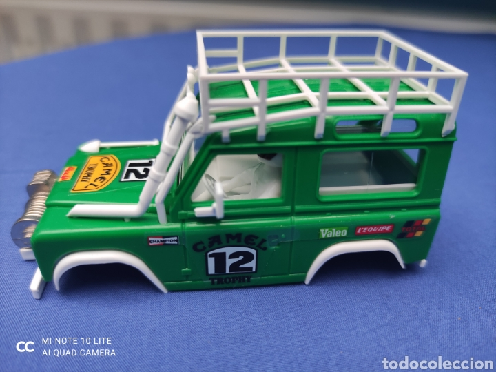 SCALEXTRIC EXIN STS CARROCERIA LAND ROVER, VERDE MANZANA, NUEVA (Juguetes - Slot Cars - Scalextric Tecnitoys)