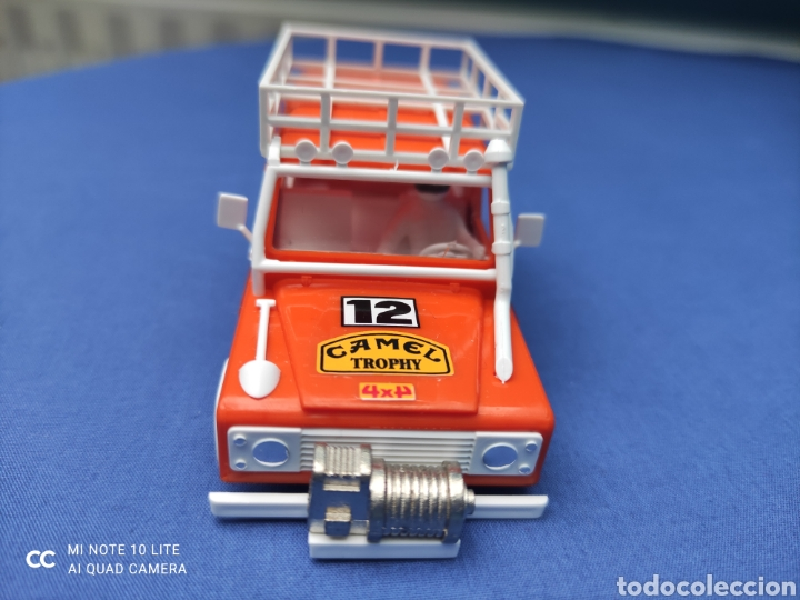 Scalextric: SCALEXTRIC EXIN STS CARROCERIA LAND ROVER, NARANJA, NUEVA - Foto 2 - 223478603