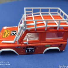 Scalextric: SCALEXTRIC EXIN STS CARROCERIA LAND ROVER, NARANJA, NUEVA. Lote 223478603