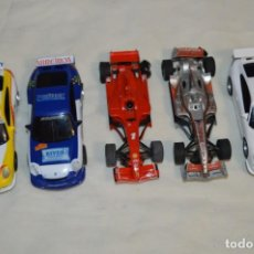 Scalextric: LOTE DE COCHES SLOT - SCALEXTRIC COMPACT / ESCALA 1:43 - SCALEXTRIC TECNITOYS - ¡MIRA FOTOS! LOTE 01. Lote 223693948