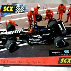 Scalextric: COCHE SLOT DE CARRERAS SCX MINARDI F-1 AUSTRALIA 2001 , TECNITOYS REF. 60700, 1:32 , COMO NUEVO *. Lote 128876595