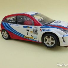 Scalextric: COCHE SCX, FORD FOCUS WRC...TECNITOYS.... Lote 224211653