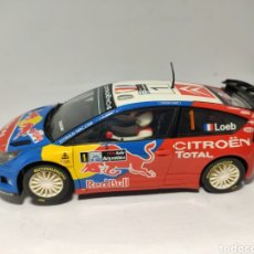 Scalextric: SCALEXTRIC CITROEN C4 WRC LOEB TECNITOYS ALTAYA. Lote 224276937