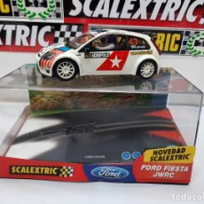 "Scalextric: FORD FIESTA WRC "" ACROPOLIS "" #43 SCALEXTRIC CON LUCES!!. Lote 224508971"