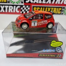 "Scalextric: CITROEN C2 JWRC "" M.FUSTER- J.V MEDINA "" #1 SCALEXTRIC CON LUCES!!. Lote 224511300"
